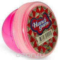 Жвачка для рук Тм HandGum, цвет: розовый, с запахом малины, 70 г