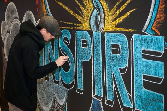 Chalk Artist - heycaryl - Home - It All Started with aDrawing. #corporateevent #entertainment