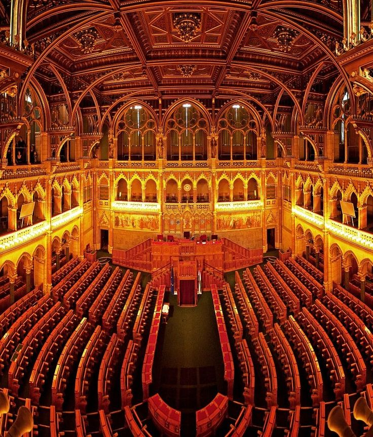 Interior Of The Hungarian Parliament. Look For A Guided Tour! #Budapest, #