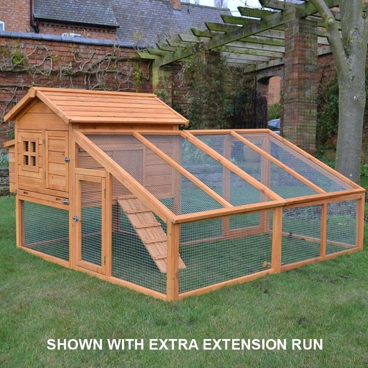 Large Windsor Chicken Coop U0026 Run   Houses Up To 5 Birds   Hen House