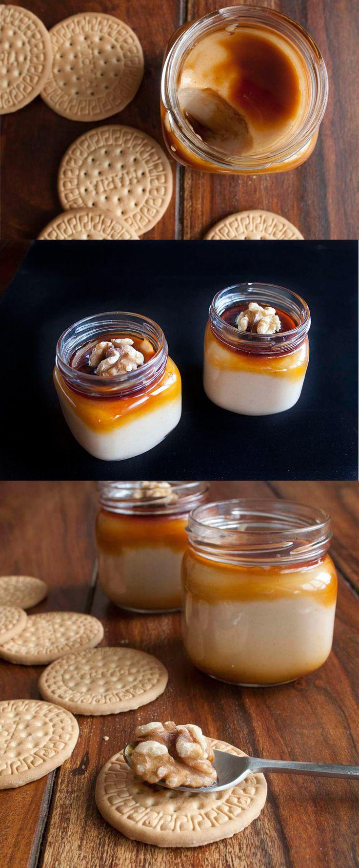Crema de galletas María / http://espiaenlacocina.com/