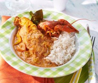 La recette du poulet aux écrevisses de Julie Andrieu