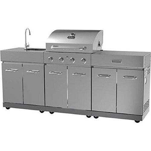 Special Offers - Outdoor Gas Grill Barbecue Kitchen Island Barbeque Stainless Steel BBQ Grills Propane Natural Gas - In stock & Free Shipping. You can save more money! Check It (June 18 2016 at 11:04PM) >> http://outdoorgrillsusa.net/outdoor-gas-grill-barbecue-kitchen-island-barbeque-stainless-steel-bbq-grills-propane-natural-gas/