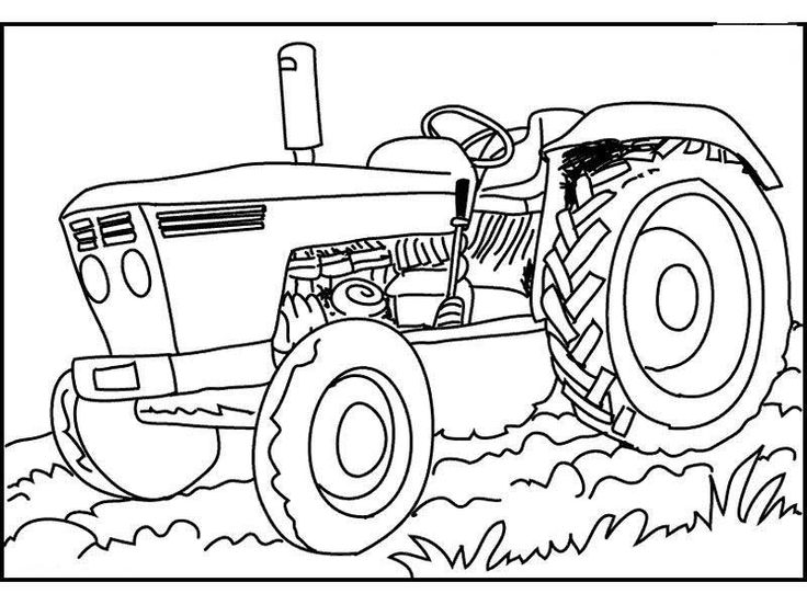 25 Best Ideas about Tractor Coloring Pages on Pinterest  John