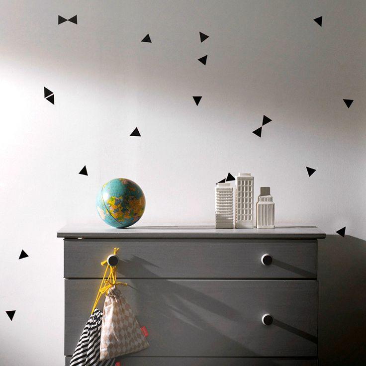 Wandregalsystem  Die besten 25+ Dreieckswand Ideen auf Pinterest | Geometrische ...