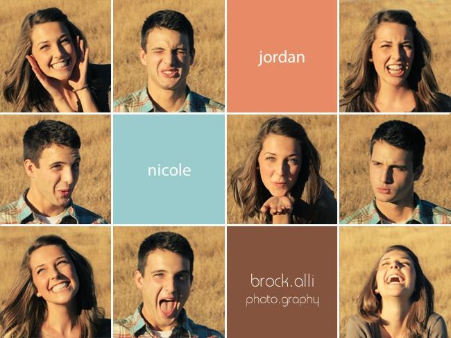 Fun Couple, Engagement Shoot  brock.alli photography