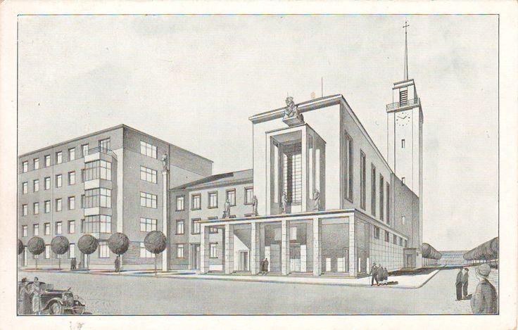 Fischer, Vladimír - Kostel svatého Augustina, Brno (Church of St. Augustine, Brno) (1932-34)