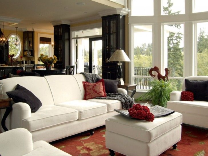 architecture interior home design very powerful interior design of living room with white sofaas and - Design Your Own House Interior