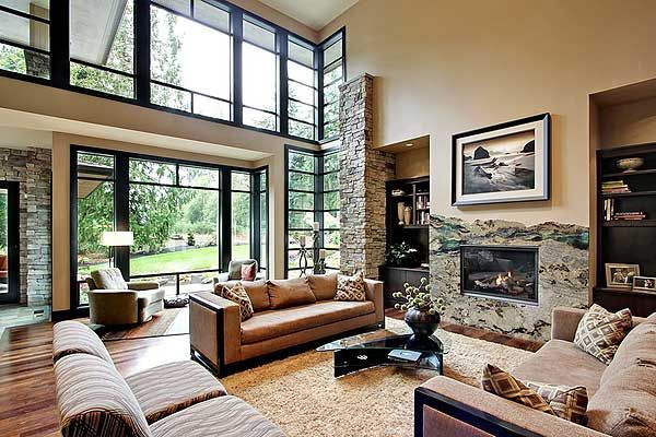 Great rooms Above and beyond and Contemporary house plans