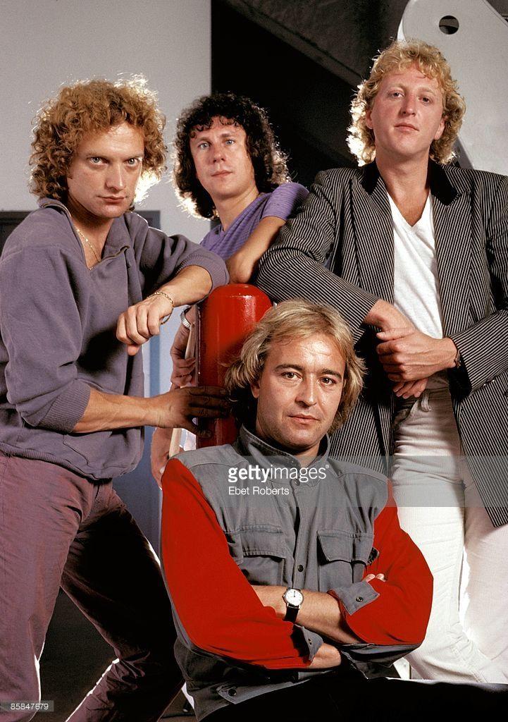 Photo of FOREIGNER; Lou Gramm, Dennis Elliott,Rick Willis, Mick Jones
