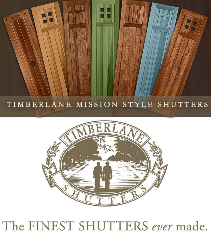 craftsman cedar shutters - Google Search