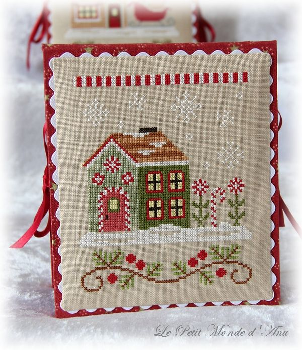 Candy Cane Cottage (available from Country Cottage Needleworks).
