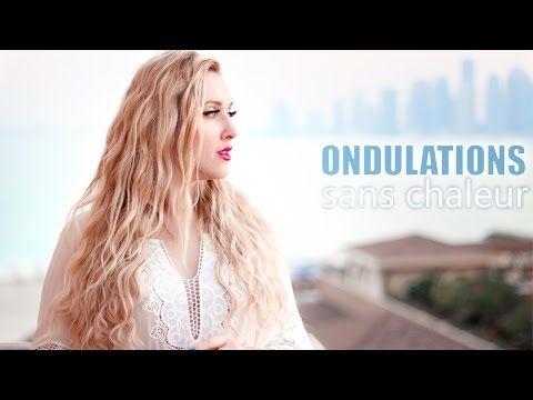 Comment onduler/friser ses cheveux naturellement ❤ Boucles sans chaleur à la Shakira/Daenerys - YouTube