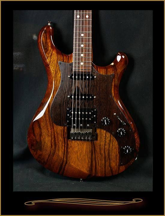 Knaggs Guitars  Severn T3 Trem with black Limba top, Wenge pick guard