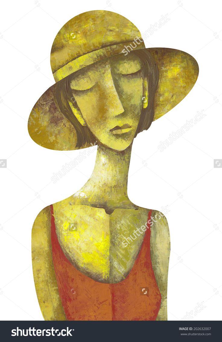 Elegant Woman by Eugene Ivanov. #eugeneivanov #elegant #woman #portrait #lady #painting #art #nude #cubism #girl #female #femina #@eugene_1_ivanov