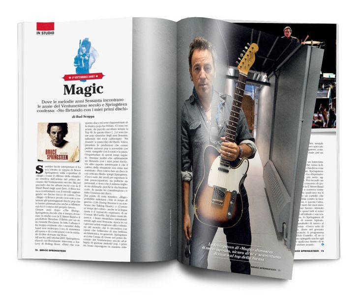 Speciale Bruce Springsteen Un progetto di Musica Jazz e Music Circus Art Director Silvano Belloni Publisher Marco Tatarella Illustrazioni Davide Forleo Foto Wally Skalu/Getty Images