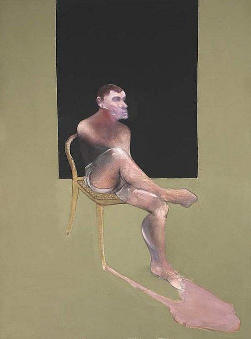 Francis Bacon | Portrait of John Edwards | Oil on canvas | 1988