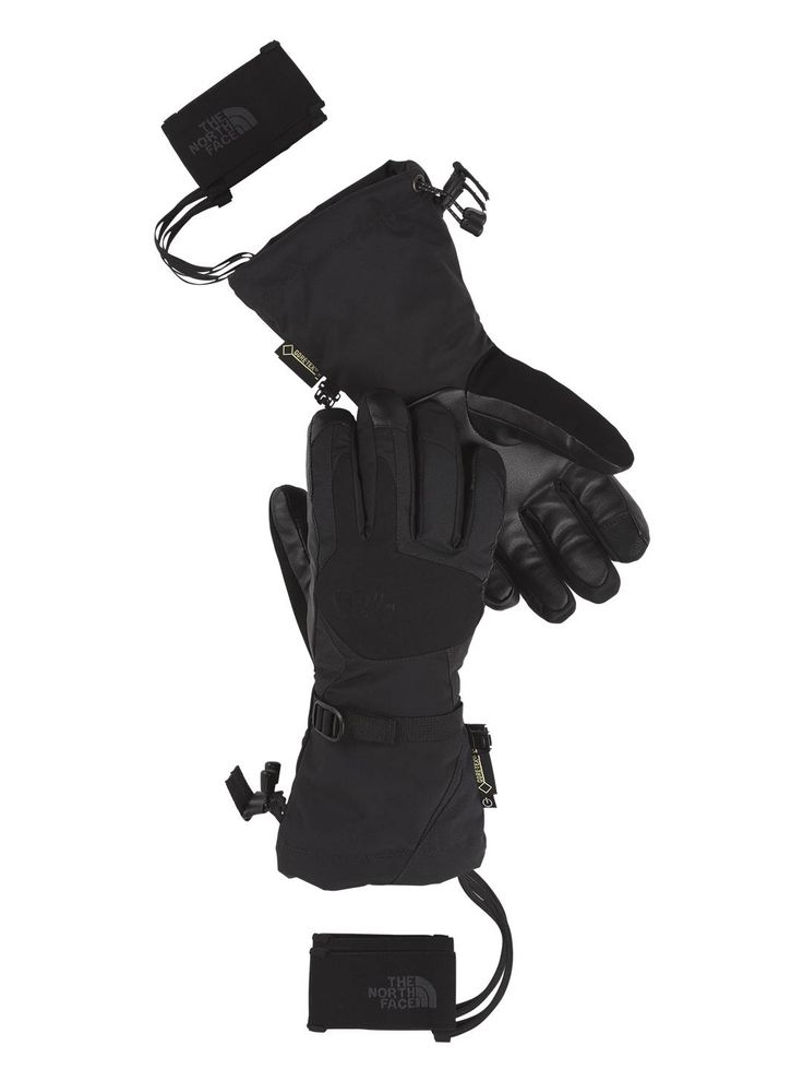 For those clear but chilly days, go to the North Face's women's PowderFlo Etip™ glove to keep all your finger tips warm. This fully featured technical ski glove provides warmth with waterproof, breathable Gore-Tex and a women-specific fit. Available at the North Face.