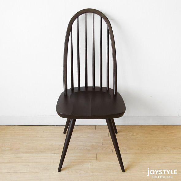 JOYSTYLE interior/商品詳細 【受注生産商品】ナラ材 ナラ無垢材 ナラ天然木 木座 木製椅子 ナチュラルテイスト ウィンザーチェア ダイニングチェア CAMPUS-CH-NA