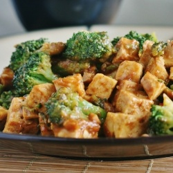 ... Vegetarian Dishes, Sounds Delicious, Kung Pao Tofu Broccoli, Weeknight