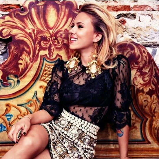 Scarlett Johansson in Vogue Magazine