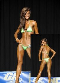 12 week figure comp prep! My goal: be on that stage!