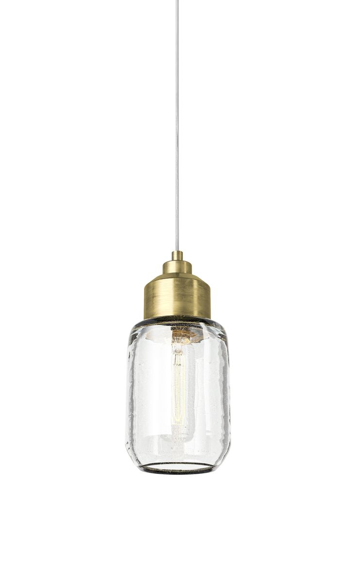 NYX handblown glass pendant light | polished copper, brass satin, antique metal | design by davidpompa | inspired by tradition