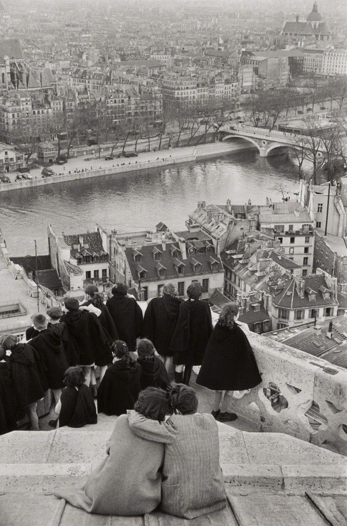 Henri Cartier-Bresson, View from Notre-Dame Cathedral, Paris, 1953, Phillips