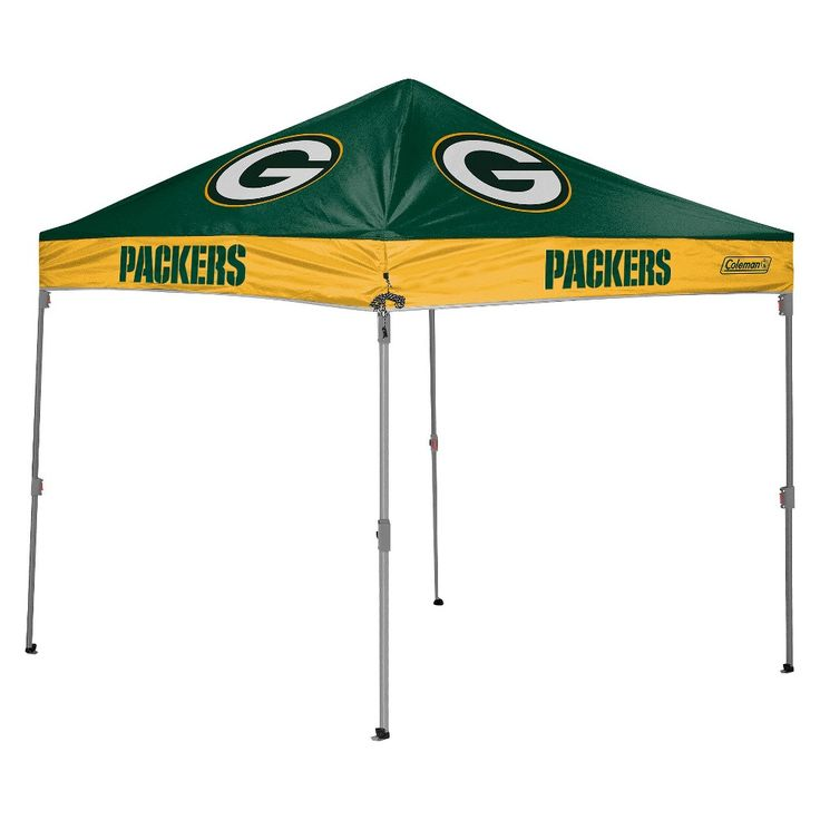 Straight Leg Canopy Tent - Green Bay Packers  sc 1 st  Pinterest & Best 25+ 10x10 canopy tent ideas on Pinterest | 10x10 tent 10x10 ...