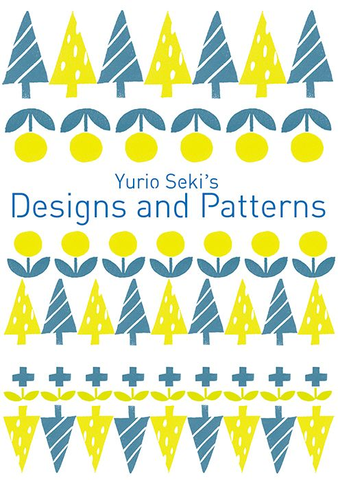 Cover design of Yurio Seki's Designs and Patterns