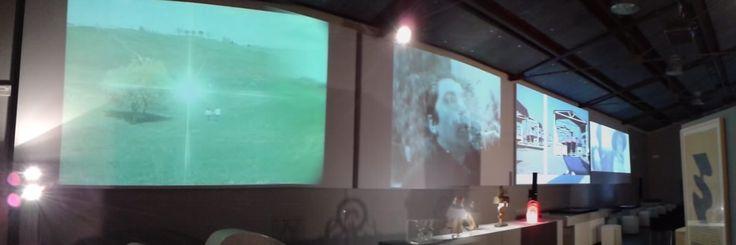 """Estate al MuSA: panoramica rassegna audiovisiva """"Scolpire il tempo"""" al MuSA dal 14.06.2013 al 21.07.2013 (foto Daniele Tuccori)"""