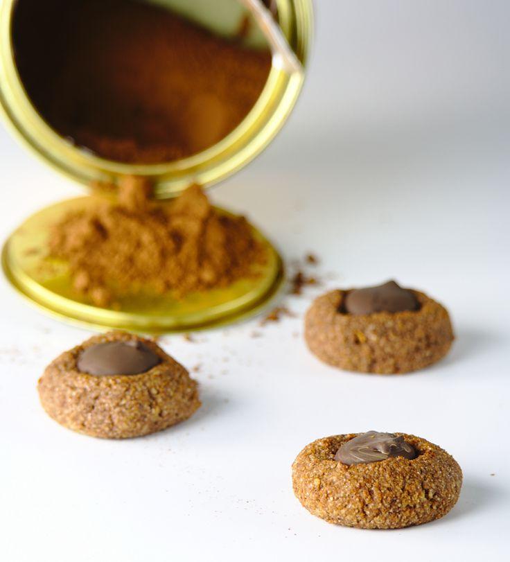 """Panellets"" de chocolate #glutenfree"