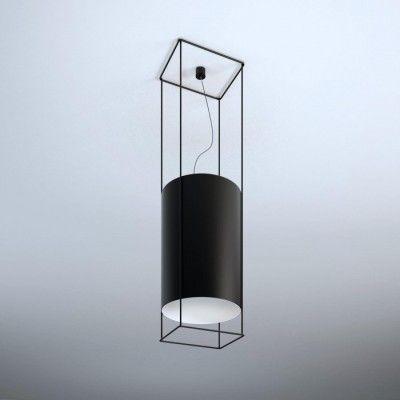 PAA CLASSIC 719/CZ/CZ (stelaż czarny + abażur czarny) - Lampa wisząca Shilo