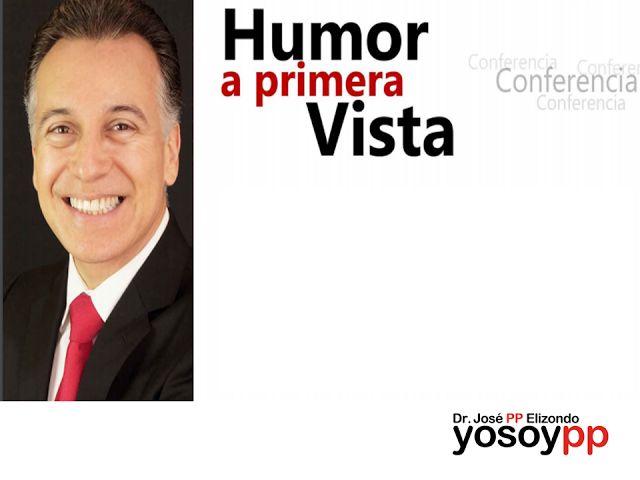 """¿Humor a primera vista? SPEAKER PP ELIZONDO ¿Cuál es la causa de que hombres y mujeres actuemos de manera tan diferente?, ¿""""El Matrimonio"""" y """"la Felicidad"""" son incompatibles?, ¿Quién se ríe más… los hombres o las mujeres?, ¿Cómo agregar humor y risa a nuestro matrimonio? Si desea conocer más detalles sobre esta y otras conferencias que imparte el importante speaker José PP Elizondo, le invitamos a ingresar a la página www.yosoypp.com.mx"""