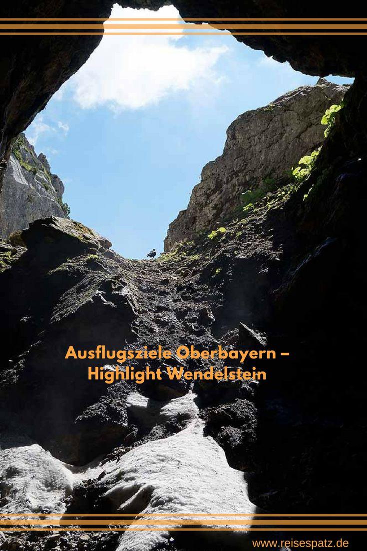 **Foto: Wendelsteinhöhle** Ausflugsziele in Oberbayern: Mit der Zahnradbahn auf den Wendelstein
