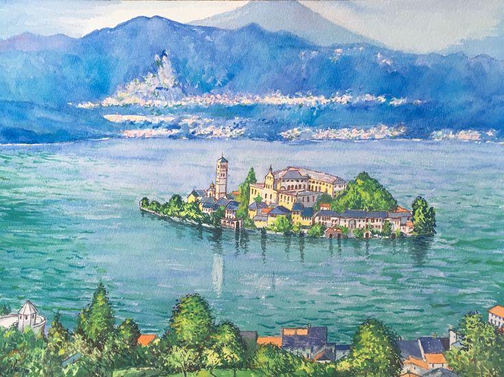 Les Lacs Italiens - Alain Weiss
