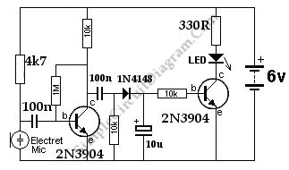 sound activated leds - Google Search