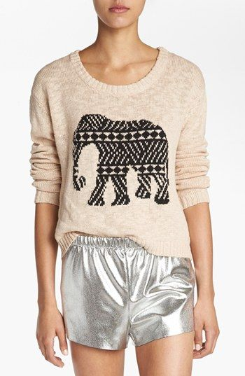 MINKPINK 'Pride of Place' Crop Sweater available at #Nordstrom
