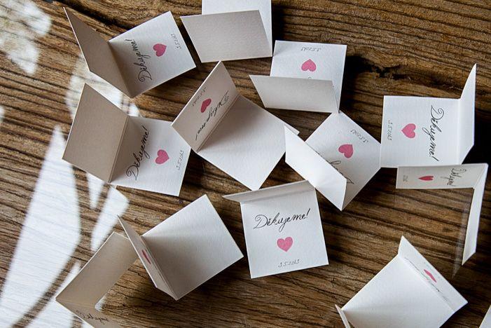 Svatební výslužka - tagy