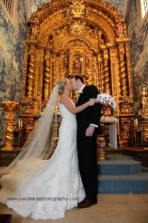 Church wedding in the Algarve Portugal by Algarve Wedding Planners