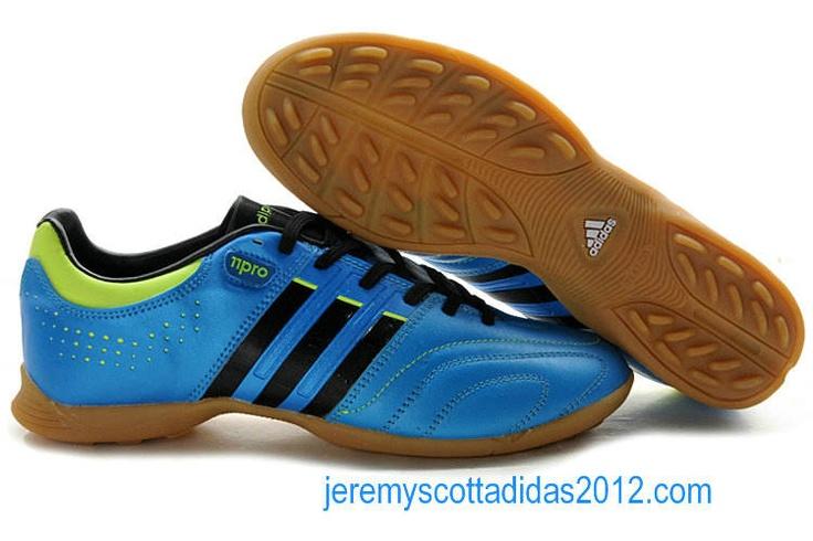 2012 Adidas AdiPure V 11 Pro XTRX TF Soccer Shoes Blue Black Green