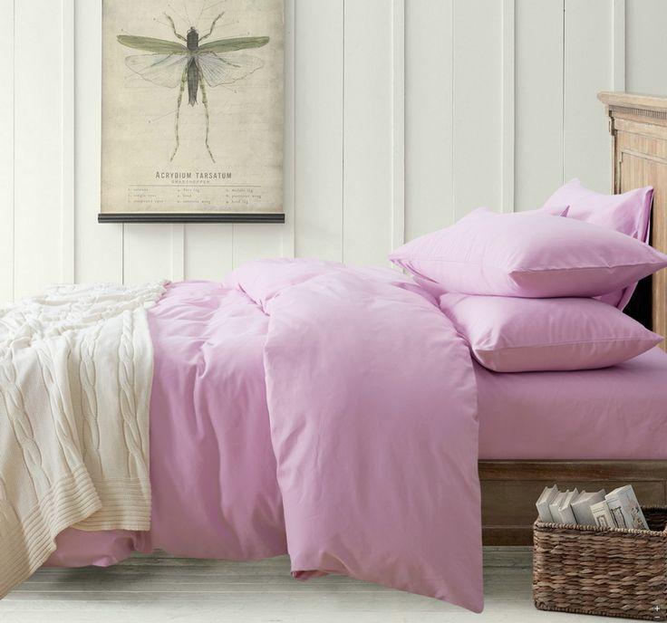 Minimalism Lilac Bedding Scandinavian Design Bedding Teen Bedding Kids  Bedding Part 55