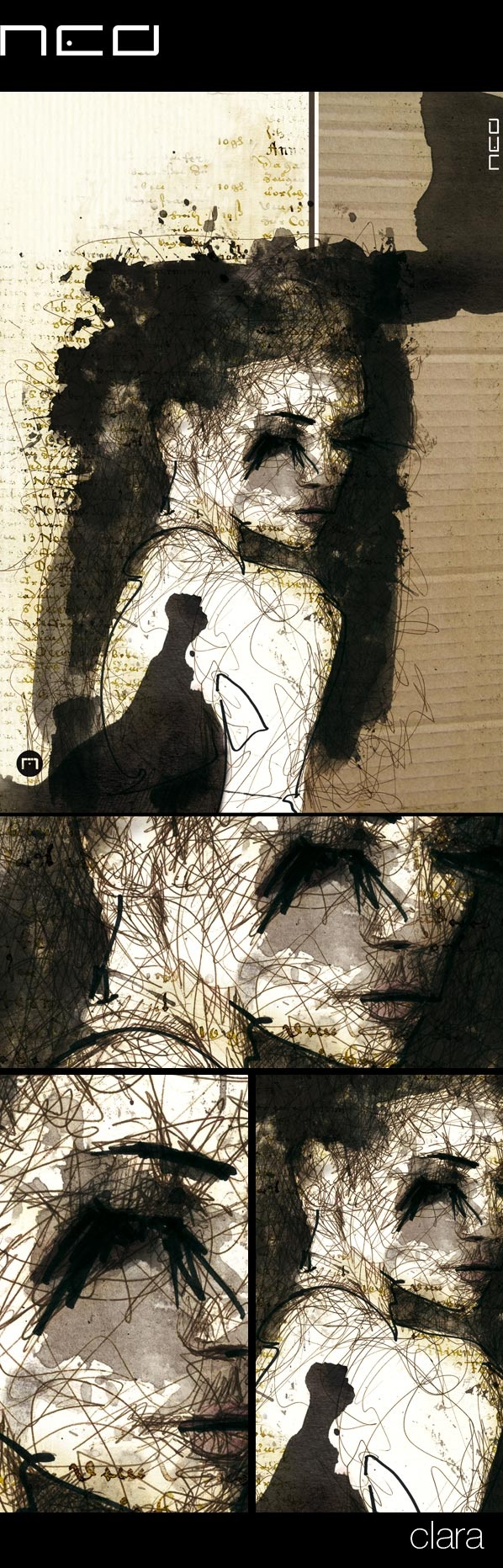 clara by Florian NICOLLE, via Behance