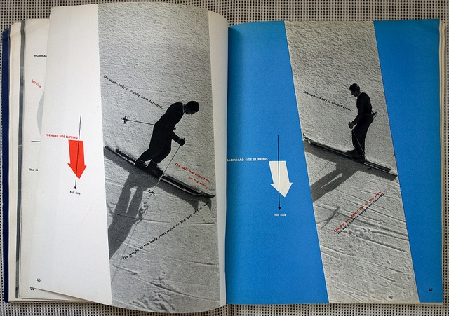 French Method: How to Ski - Emile Allais' Technic - 9 by Michael Stoll, via Flickr