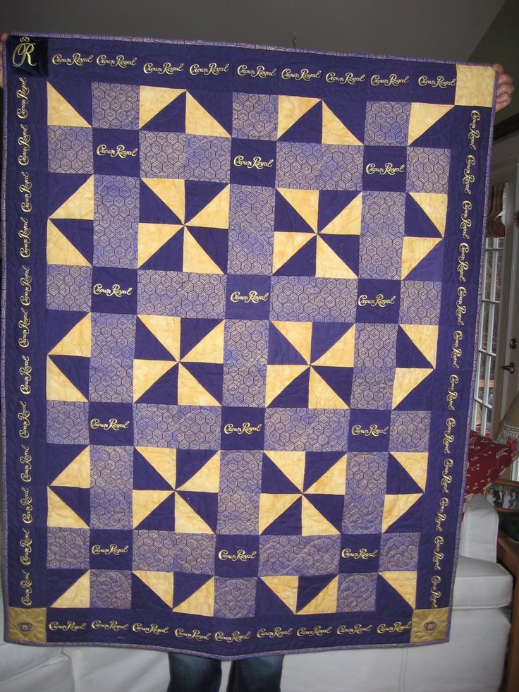 15 best images about Crown Royal Quilt ideas on Pinterest | Quilt ... : crown royal bag quilt - Adamdwight.com
