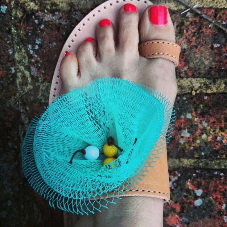 Handmade sandals!!