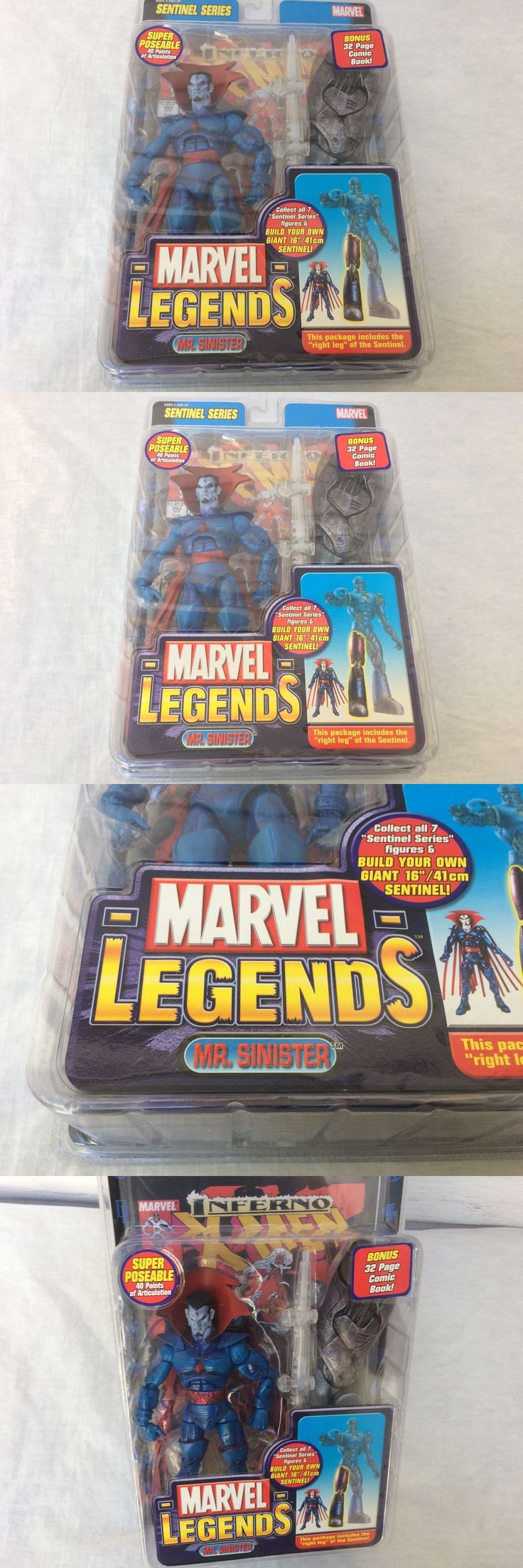 Comic Book Heroes 158671: Mr. Sinister Action Figure Marvel Legends Sentinel Series New Mip -> BUY IT NOW ONLY: $69.95 on eBay!