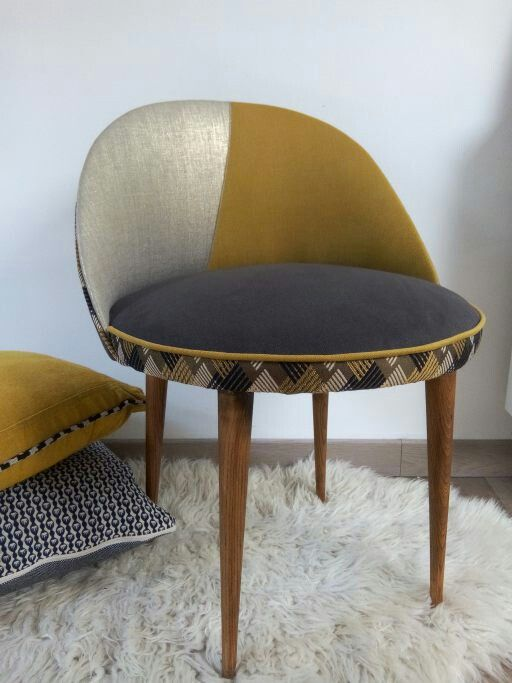 Fauteuil cocktail graphique chic Moly Bo.m