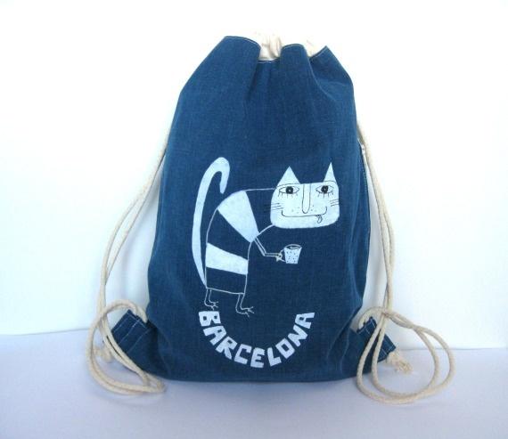 mochila de barcelona / ART EXPLOSIVE - Artesanio