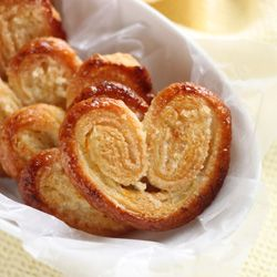 Citrus Palmiers, also known as Elephant Ears.  A classic and easy recipe brightened up with citrus.